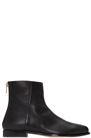 Jimmy Choo - Black Duke Boots
