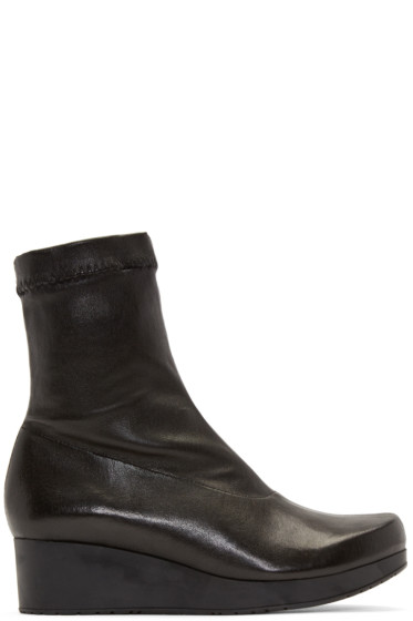 Robert Clergerie - Black Nerdall Sock Boots