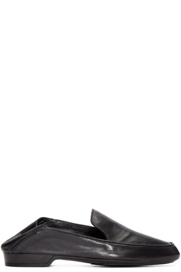 Robert Clergerie - Black Leather Fani Loafers