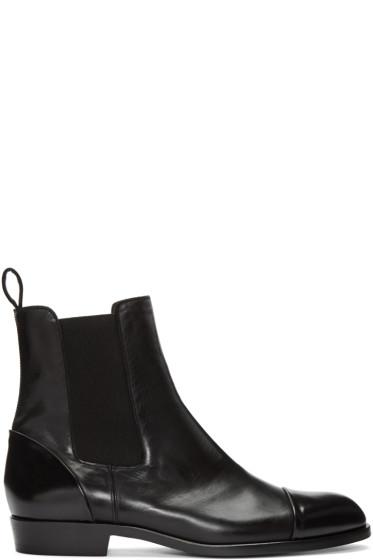 Robert Clergerie - Black Paul Chelsea Boots