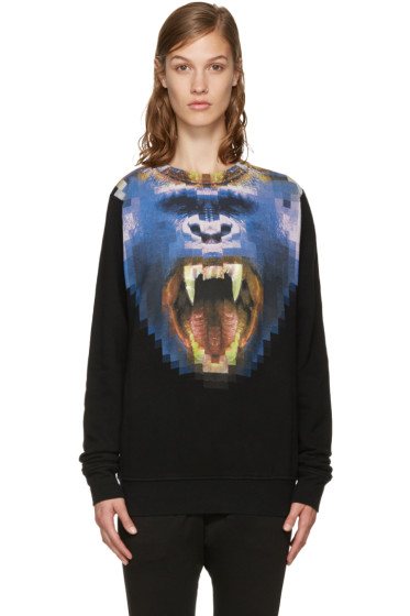 Marcelo Burlon County of Milan - Black Llullaillaco Pullover