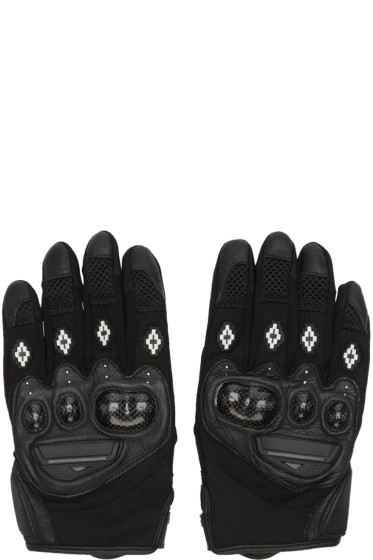 Marcelo Burlon County of Milan - Black Uturuncu Gloves