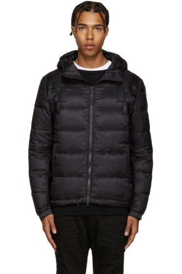 Marcelo Burlon County of Milan - Black Feather Cardiel Jacket