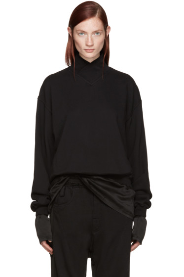 Haider Ackermann - Black Layered Pullover