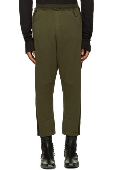 Haider Ackermann - Khaki Cropped Lounge Pants