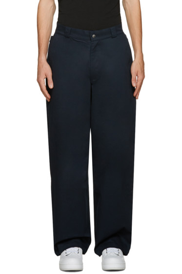 Hood by Air - Navy Uniform Sag Trousers
