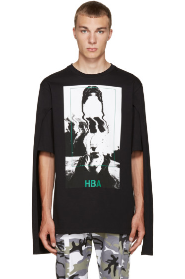 Hood by Air - Black Montgomery Graduation T-Shirt