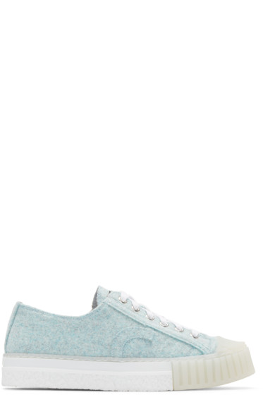 Adieu - Blue Felted Type W.O. Sneakers