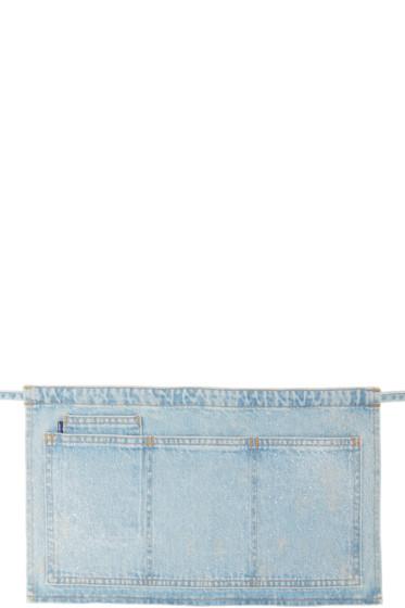 Levi's c/o Off-White - SSENSE Exclusive Blue Carpenter Apron Belt