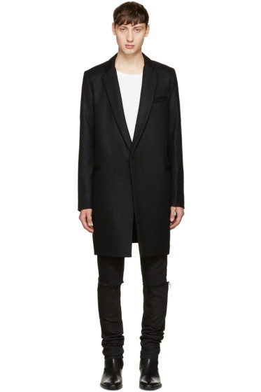 Christian Dada - Black Wool Coat