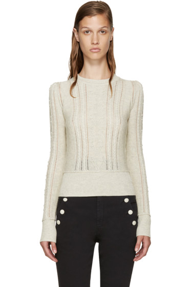 Isabel Marant Etoile - Grey Kalyn Sweater