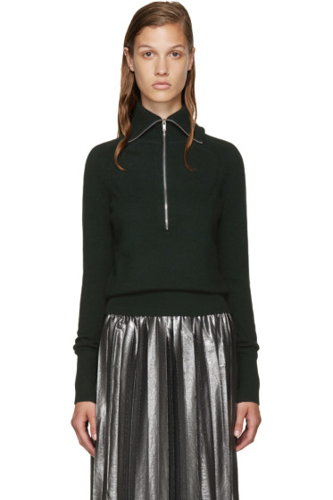 Isabel Marant Etoile - Green Wool Erwin Turtleneck