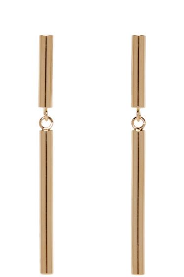 Isabel Marant - Gold Double Biennale Earrings