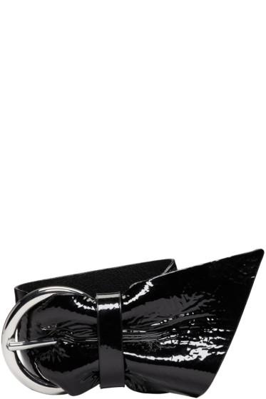 Isabel Marant - Black Patent Leather Bracelet