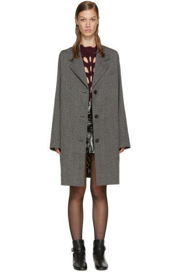 Isabel Marant - Grey Wool Jagger Coat