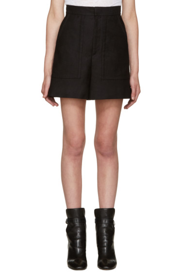 Isabel Marant - Black Satia Shorts
