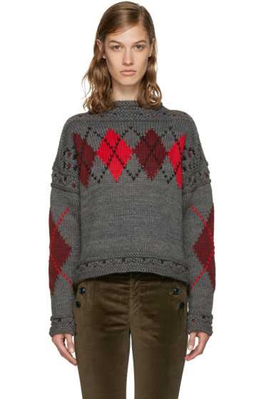 Isabel Marant - Grey Glens Sweater