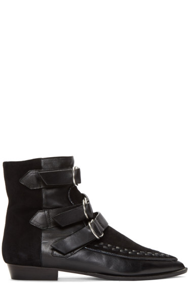 Isabel Marant - Black Rowi Mods Boots