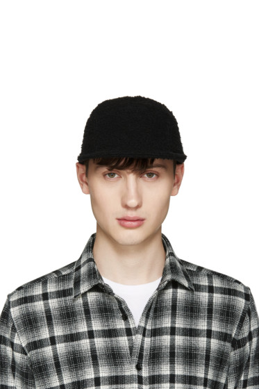 Larose - Black Casentino Five Panel Cap