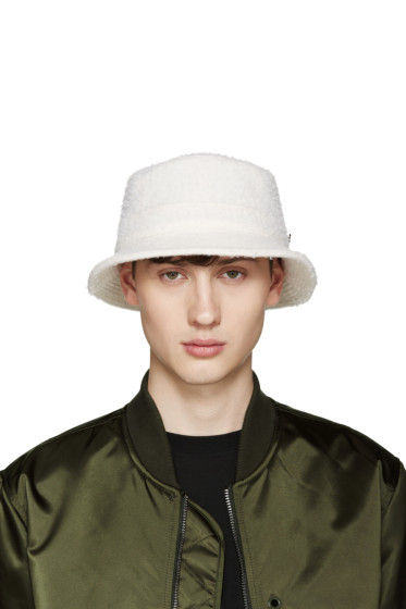 Larose - Off-White Casentino Bucket Hat