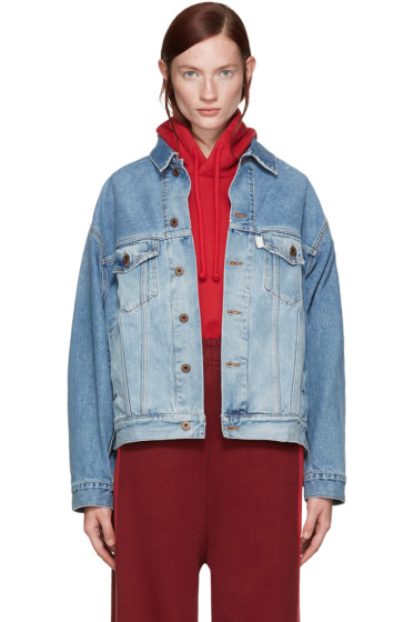 Off-White - Blue Over Denim Jacket