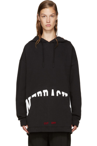 Off-White - Black Nebraska Hoodie