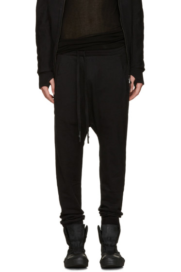 11 by Boris Bidjan Saberi - Black Sarouel Lounge Pants