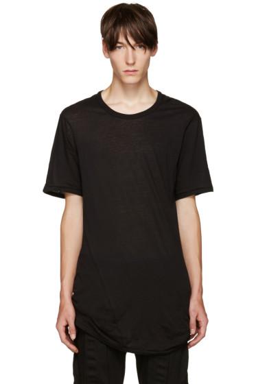 11 by Boris Bidjan Saberi - Black Dye T-Shirt