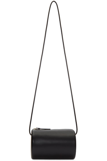 Building Block - Black Cylinder Sling Bag