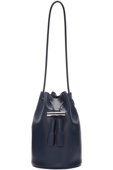 Building Block - Navy Bucket Bag