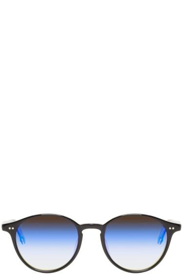 Garrett Leight - Black Mirrored Pacific Sunglasses