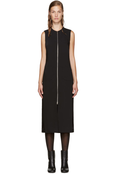 Nomia - Black Zip Front Dress
