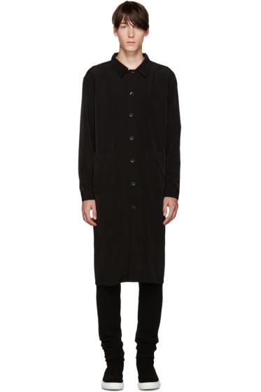 D by D - Black Long Zip Shirt