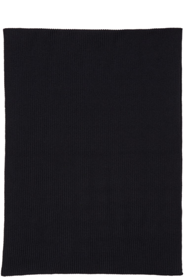 Lemaire - Navy Wool Scarf