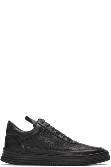 Filling Pieces - Black Sock Wavy 3.0 Sneakers