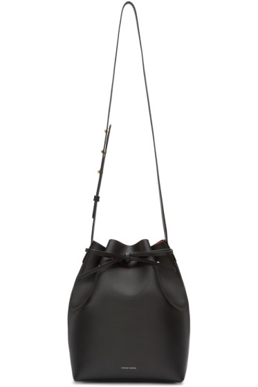 Mansur Gavriel - Black Leather Bucket Bag
