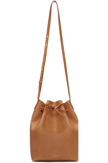 Mansur Gavriel - Tan Leather Bucket Bag