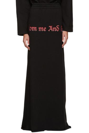 Vetements - Black 'Drink From Me' Skirt