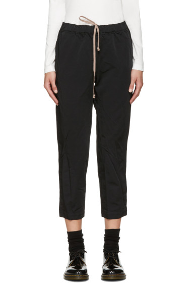 Comme des Garçons Comme des Garçons - Black Elasticized Waist Trousers