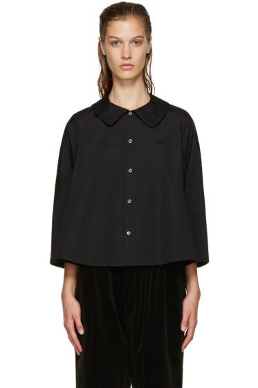 Comme des Garçons Comme des Garçons - Black Big Collar Shirt