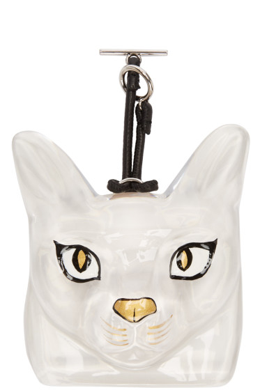 Loewe - Transparent Cat Bag Charm