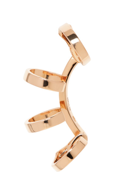 Repossi - Rose Gold Multi Band Berbere Ear Cuff