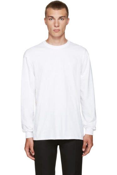 Toga Virilis - White Beaded T-Shirt