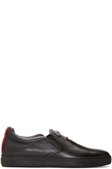 Fendi - Black Faces Sneakers