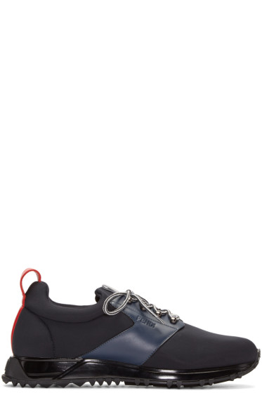 Fendi - Black Neoprene Sneakers