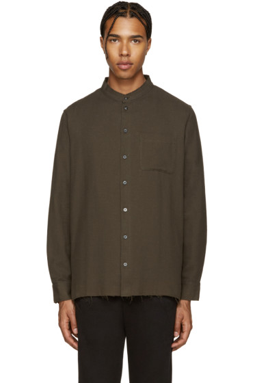 Palm Angels - Green Koreana Shirt
