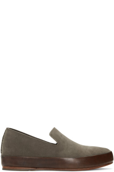 Feit - Green Suede Loafers
