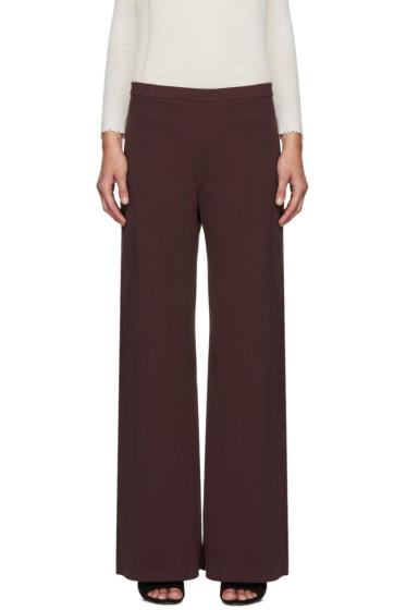 Simon Miller - Burgundy Rian Lounge Pants