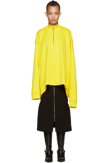 Marques Almeida - Yellow Oversized Pullover