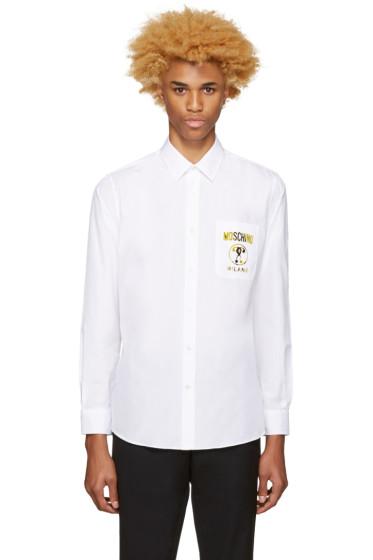 Moschino - White Logo Shirt